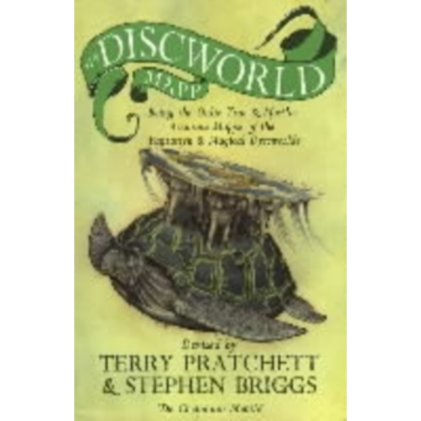 The Discworld Mapp by Stephen Briggs, Terry Pratchett (Paperback, 1995)