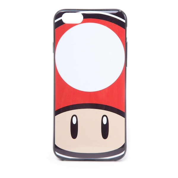 Nintendo - Toad Mushroom Face Apple Iphone 6 Phone Cover