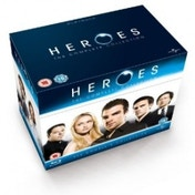 Heroes Season 1-4 Complete Blu-Ray Box Set