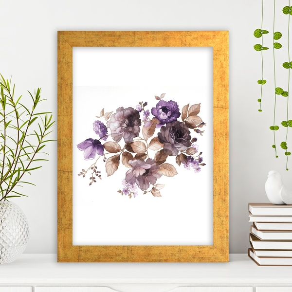 AC9219336 Multicolor Decorative Framed MDF Painting