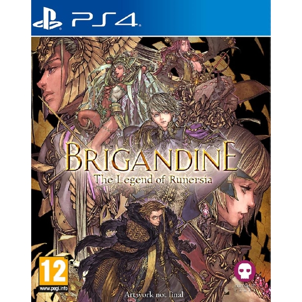 Brigandine The Legend of Runersia PS4 Game