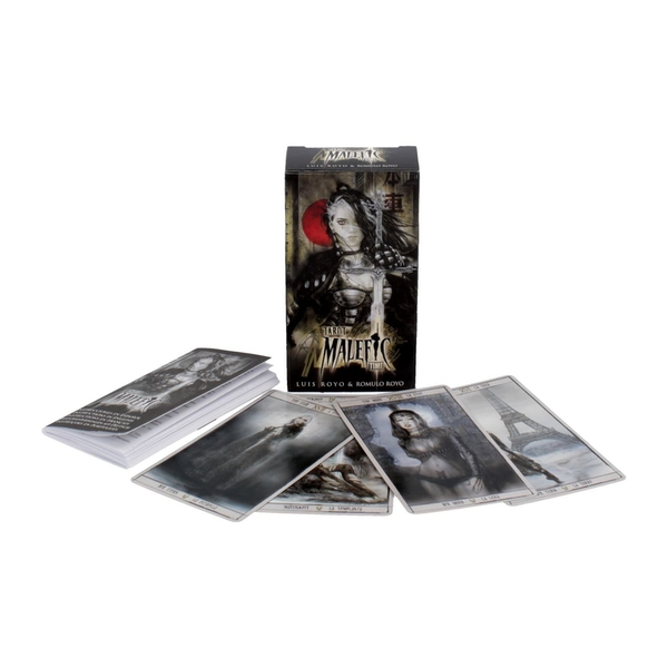 Malefic Time Tarot Cards by Luis Royo