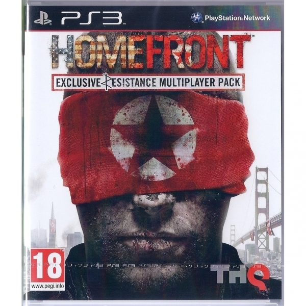 Homefront Resist Edition Game PS3