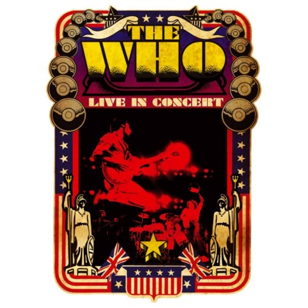 The Who - Live in Concert Greetings Card