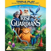 Ex-Display Rise of the Guardians Triple Play Blu-ray + DVD + Digital Copy Used - Good