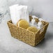 Natural Seagrass Storage Basket | M&W Set of 1 - Image 2