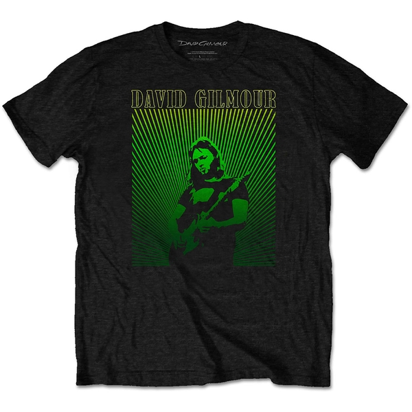 David Gilmour - Rays Gradient Men's Medium T-Shirt - Black