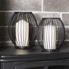 Cage Candle Holders - Set Of 2   M&W - Image 4