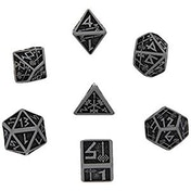 Q-Workshop Dwarven Grey & Black Dice Set