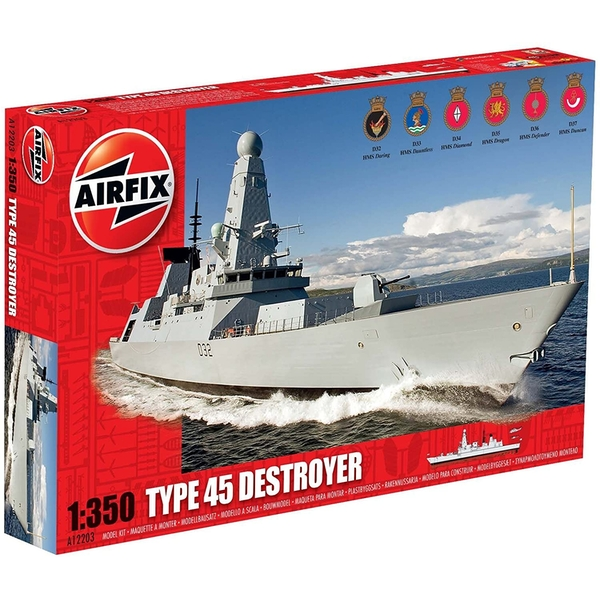 Type 45 Destroyer Airfix 1:350 Model Kit