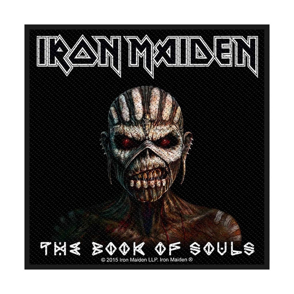 Iron Maiden - The Book Of Souls Standard Patch