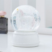 Thumbs Up! Unicorn Snow Globe