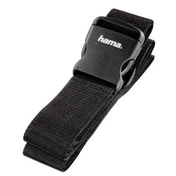 Hama Luggage Strap, 5 x 200 cm, black