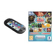 Playstation PS Vita Slim WiFi Console with 5 Game Hero Mega Pack + 8GB Memory Card PS Vita