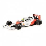 Minichamps 1:18 Scale 1991 McLaren Honda MP4/6 Aryton Senna Die Cast Model