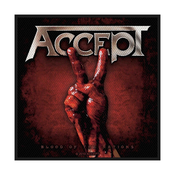 Accept - Blood of Nations Standard Patch