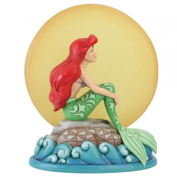 Mermaid by Moonlight (The Little Mermaid) Disney Traditions Figurine