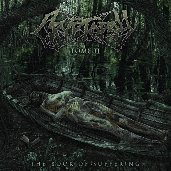 Cryptopsy - The Book Of Suffering - Tome II Etched  Vinyl