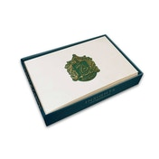 Slytherin (Harry Potter) Foil Note Cards 10-Pack