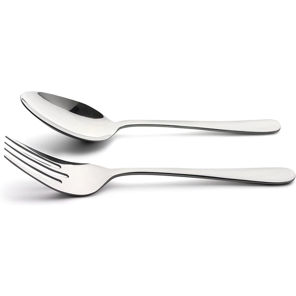 Windsor Serving Fork And Spoon Set Stainless Steel