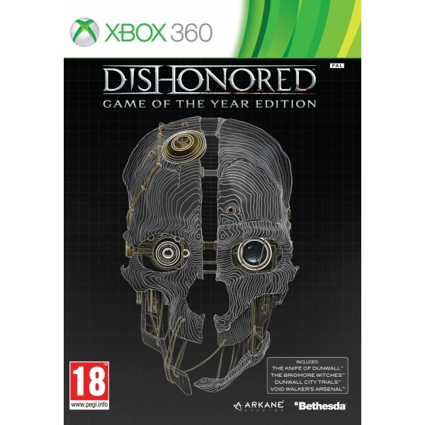 Dishonored Game Of The Year (GOTY) Game Xbox 360 - Image 1