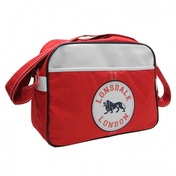 Lonsdale Flight Bag Red