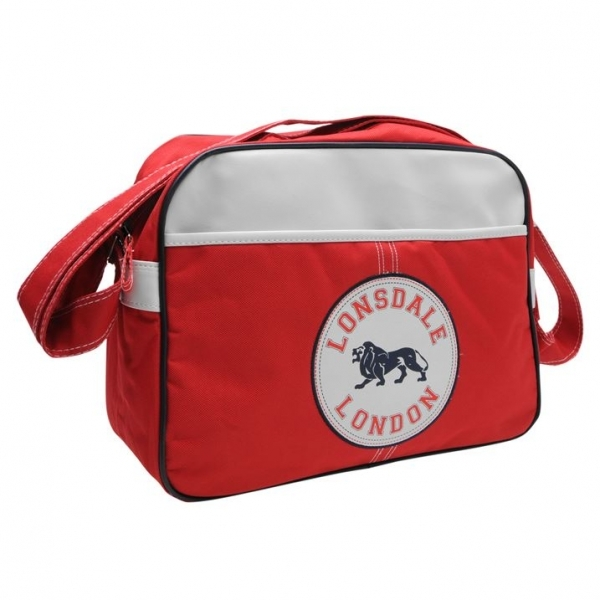 Hey! Stay with us... Lonsdale Flight Bag Red d2cfd9a81bbef