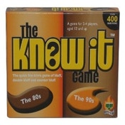 The Know It Game The 80's Board Game