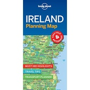 Lonely Planet Ireland Planning Map by Lonely Planet (2018)