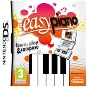 Ex-Display Easy Piano Game Includes Piano Controller DS Used - Like New