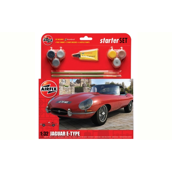 Jaguar E-Type 1:32 Air Fix Medium Starter Set