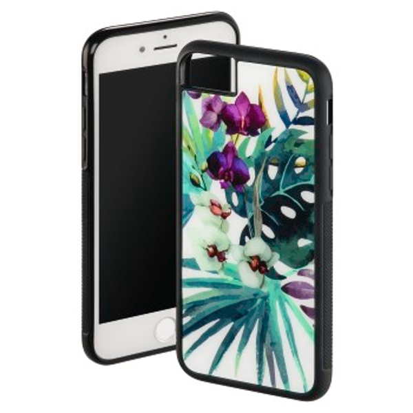 "Hama ""Orchid"" Cover for Apple iPhone 6/6s/7/8, white/colourful"