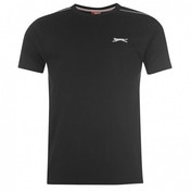 Slazenger Plain T-Shirt X-Large Black