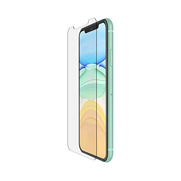 Belkin iPhone 11 Screen Protector TemperedGlass Anti-Microbial (Advanced Protection plus Reduces Bacteria on Screen up to 99 percent)
