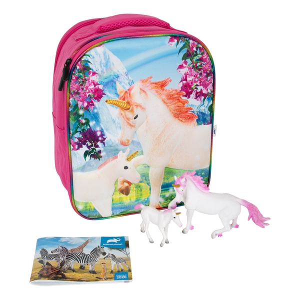 ANIMAL PLANET Mojo Unicorn Fantasy 3D Backpack Playset