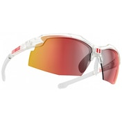 Bliz Force Sunglasses - Clear - Smoke w Red Multi