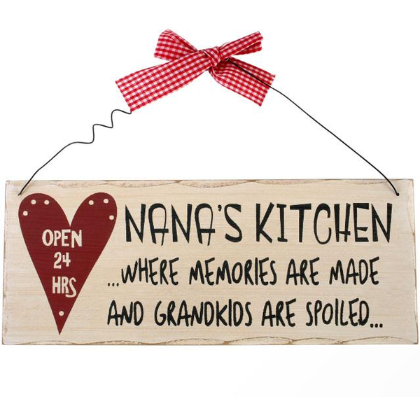 Nana's Kitchen Hanging Sign