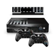 Official Newcastle United FC Xbox One Console Skin and 2x Controller Skin Combo Pack