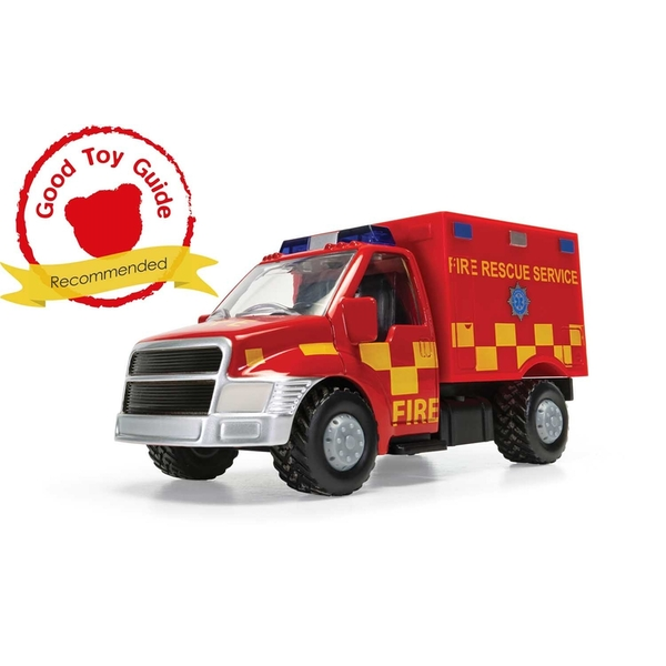 Rescue Unit Fire Truck UK Chunkies Corgi Diecast Toy