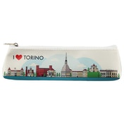 I Heart Torino Design Novelty Pencil Case