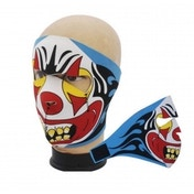 Full Face Neoprene Bike/Ski/Snowboard Mask - Evil Clown