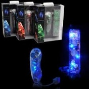 PDP Afterglow AW.1 and AW.2 Remote and Nunchuk Twin Pack Blue
