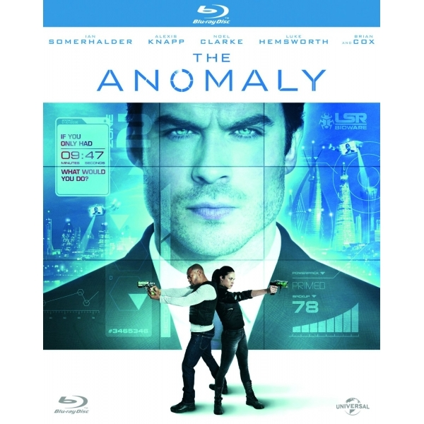 The Anomaly DVD (2017)