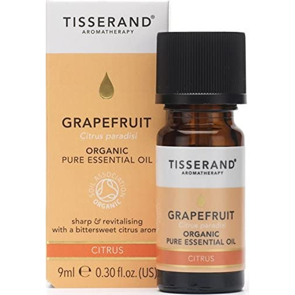 Tisserand Aromatherapy Grapefruit Organic Essential Oil 9ml