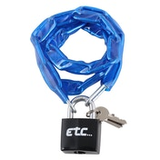 ETC Chain Lock With Padlock 900 x 4mm
