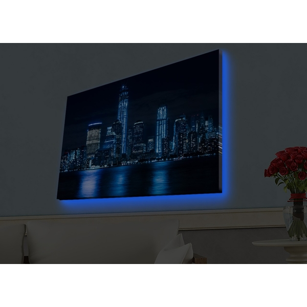 4570HDACT-095 Multicolor Decorative Led Lighted Canvas Painting