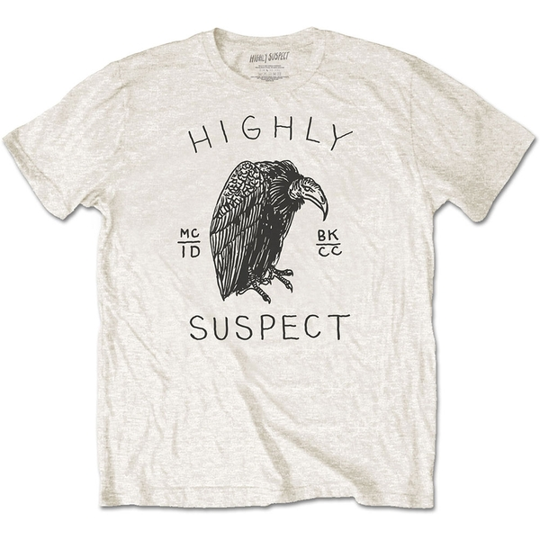 Highly Suspect - Vulture Unisex X-Large T-Shirt - Neutral