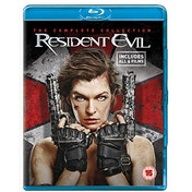 Resident Evil: The Complete Collection Blu-ray [Used]