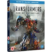 Transformers Age of Extinction Blu-ray 3D + Blu-ray + Bonus Disc