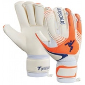 Precision Junior Fusion-X Precision Roll GK Gloves Size 7 (Orange/ White)